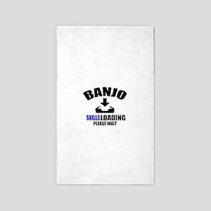 Banjo Skills Loading Please Wait Area Rug