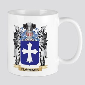 Florence Coat of Arms - Family Crest Mugs