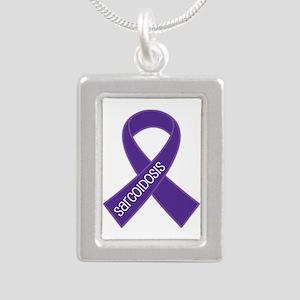Sarcoidosis Awareness Ribbon Necklaces