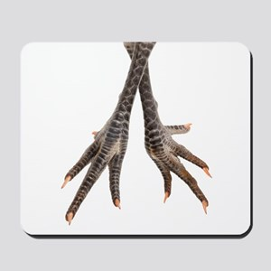 Chicken feet Mousepad