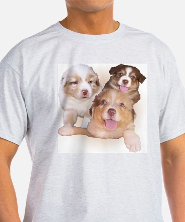 Red Tri Pups T-Shirt