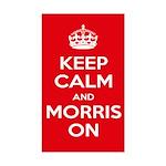 Morris Dancing Sticker (rectangle)