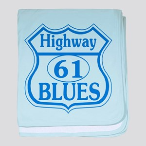 The Blues Highway baby blanket