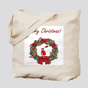 Manicurist Christmas Tote Bag