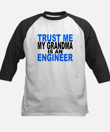 Trust Me My Grandma Is An Engineer Baseball Jersey