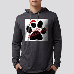 Cute Dog Paw Print Long Sleeve T-Shirt