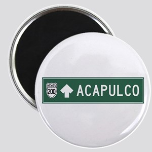 Acapulco Highway Sign (MX) Magnet