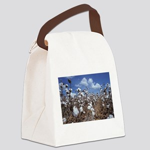 Cotton Field Canvas Lunch Bag
