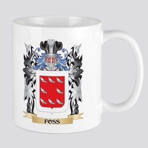 Foss Coat of Arms - Family Crest Mugs