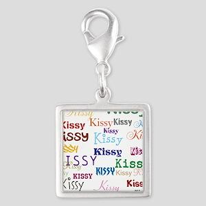 KISSY,KISSY,KISSY,KISSY. REST Silver Square Charm