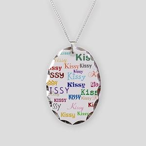 KISSY,KISSY,KISSY,KISSY. RESTO Necklace Oval Charm