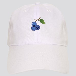 Blueberries Baseball Cap