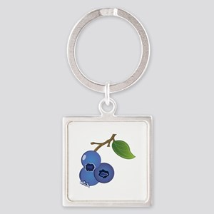 Blueberries Keychains