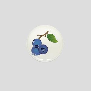 Blueberries Mini Button