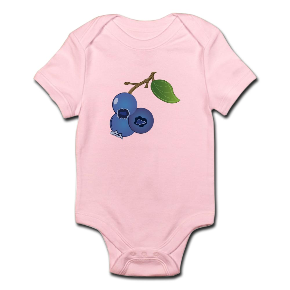 CafePress-Blueberries-Body-Suit-Cute-Infant-Bodysuit-Baby-Romper thumbnail 8