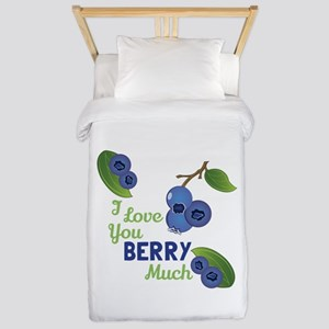 Love You Berry Much Twin Duvet