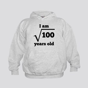 10th Birthday Square Root Hoodie