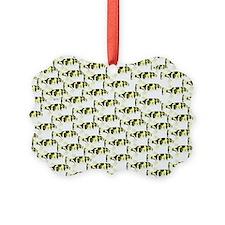 Amazon Freshwater Puffer fish Pattern Ornament