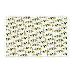 Amazon Freshwater Puffer fish Pattern Posters