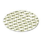 Amazon Freshwater Puffer fish Pattern Wall Decal