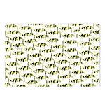 Amazon Freshwater Puffer fish Pattern Postcards (P