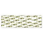 Amazon Freshwater Puffer fish Pattern Bumper Stick