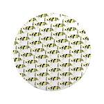 Amazon Freshwater Puffer fish Pattern Button