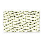 Amazon Freshwater Puffer fish Pattern Rectangle Ca