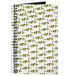 Amazon Freshwater Puffer fish Pattern Journal