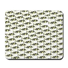 Amazon Freshwater Puffer fish Pattern Mousepad