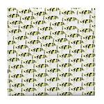 Amazon Freshwater Puffer fish Pattern Tile Coaster