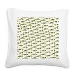 Amazon Freshwater Puffer fish Pattern Square Canva