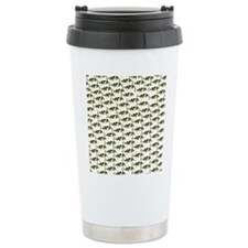 Amazon Freshwater Puffer fish Pattern Travel Mug