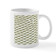 Amazon Freshwater Puffer fish Pattern Mugs