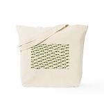 Amazon Freshwater Puffer fish Pattern Tote Bag