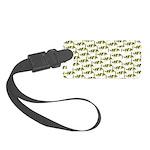 Amazon Freshwater Puffer fish Pattern Luggage Tag
