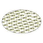 Amazon Freshwater Puffer fish Pattern Sticker