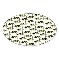 Amazon Freshwater Puffer fish Pattern Sticker