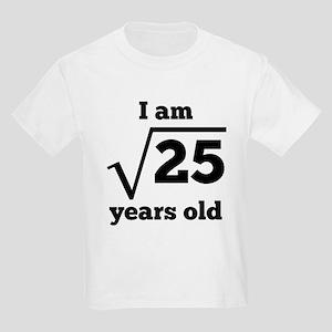 5th Birthday Square Root T-Shirt