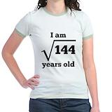 12th birthday Jr. Ringer T-Shirt