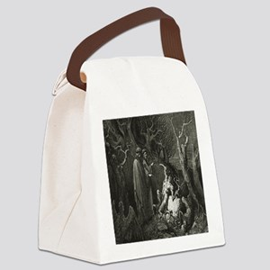 Divine comedy Image 01 Canvas Lunch Bag