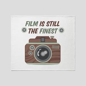Film Is Finest Throw Blanket