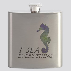 I Sea Everything Flask