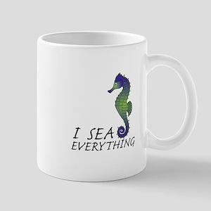 I Sea Everything Mugs