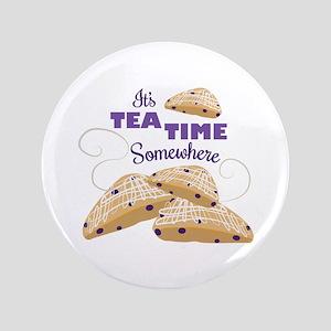 Its Tea Time Button