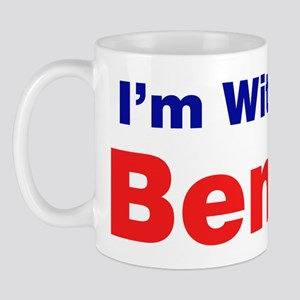 I'm With Ben Carson Mugs