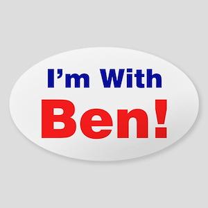 I'm With Ben Carson Sticker
