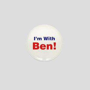 I'm With Ben Carson Mini Button