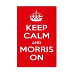 Morris Dancing Mini Poster Print