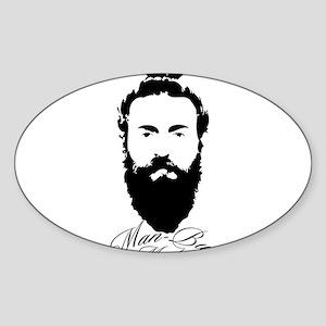 Man Bun Monday Sticker
